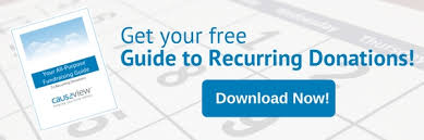 Download Causeview's Guide to Recurring Donations