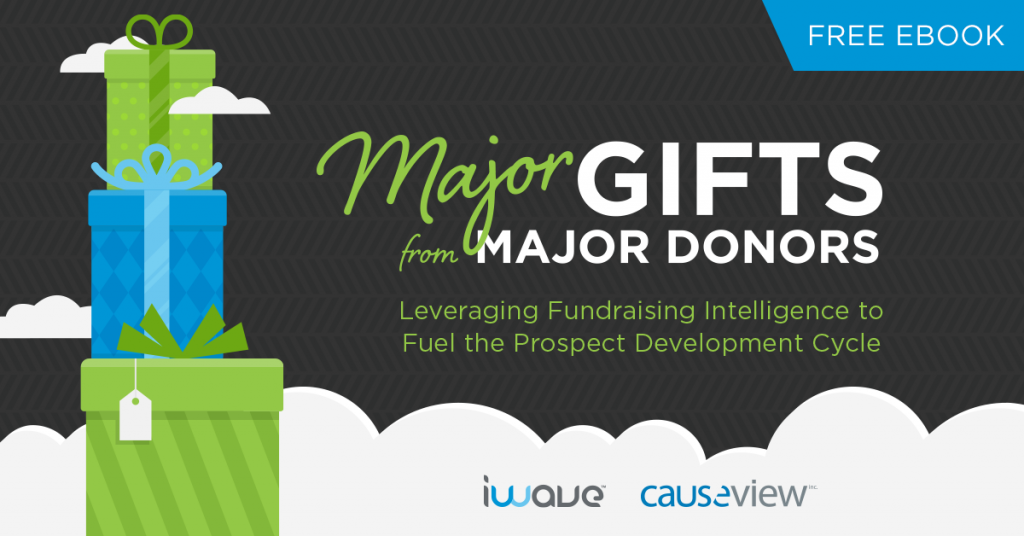 Download our new guide to major gift fundraising